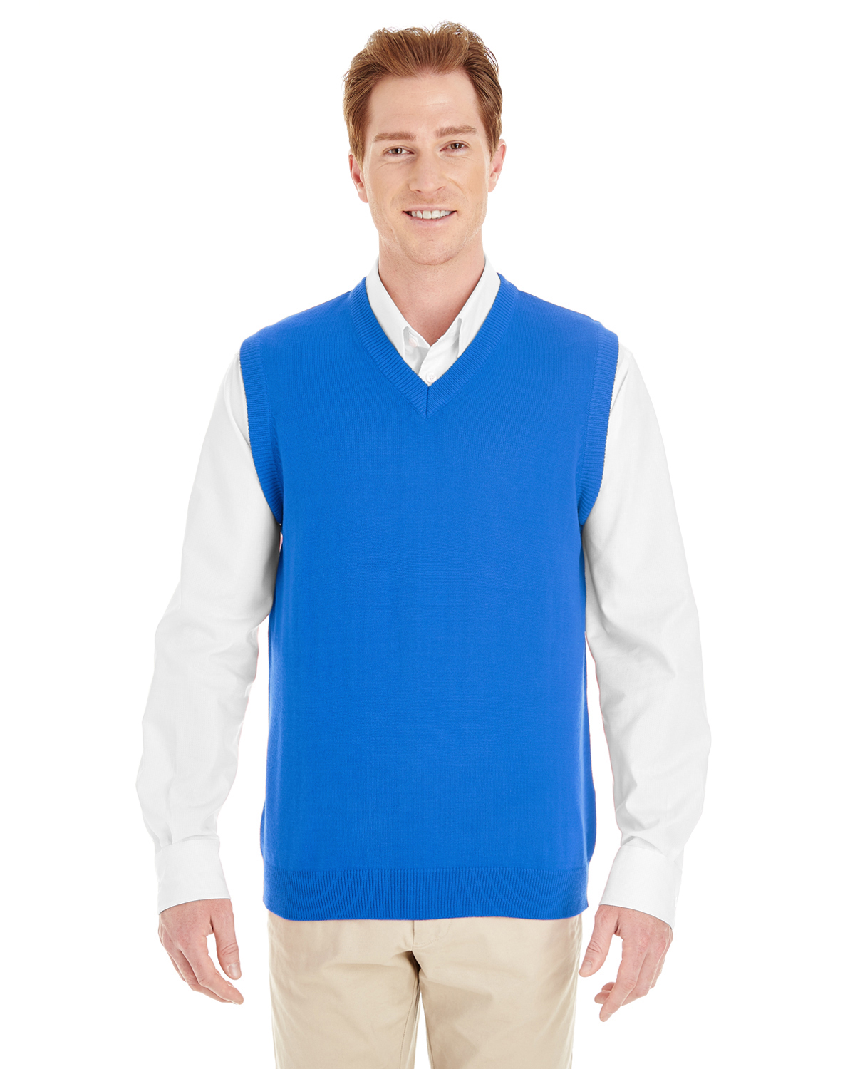 M415-Mens Pilbloc™ V-Neck Sweater Vest | ID Plus